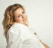 Красота женщины и макияж во время беременности