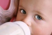 Молочные смеси и их влияние на пищеварительный тракт