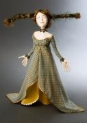 Как сделать волосы для куклы из папье-маше