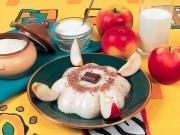 Яблочно-ванильный мусс со сливками
