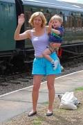 Как подготовиться к поездке на поезде с малышом