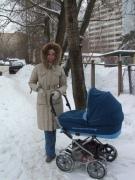 Первые прогулки в зимнее время