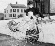 История изобретения детской коляски