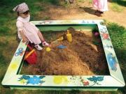 Как сделать песочницу на даче