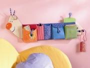 Как сделать кармашки на стену для детей