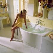 Горячая ванна и снижение лактации