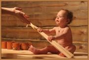 В баню с малышом