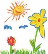 Детские стихи про солнышко