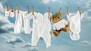Как стирать детские вещи для новорожденного