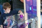 Малыш в музейном зале
