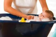 Как купать новорожденного мальчика