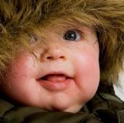 Уход за кожей малыша зимой