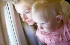 Перелет на самолете с ребенком