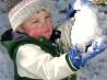 Как заинтересовать малыша к зимним прогулкам