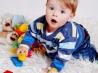 Развивающие игрушки для малыша 6 месяцев