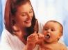 Как давать малышу лекарство?